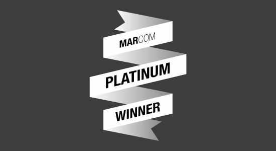 Rareview wins the 2017 MarCom Platinum award for Digital Media, Social Media, and Social Engagement.
