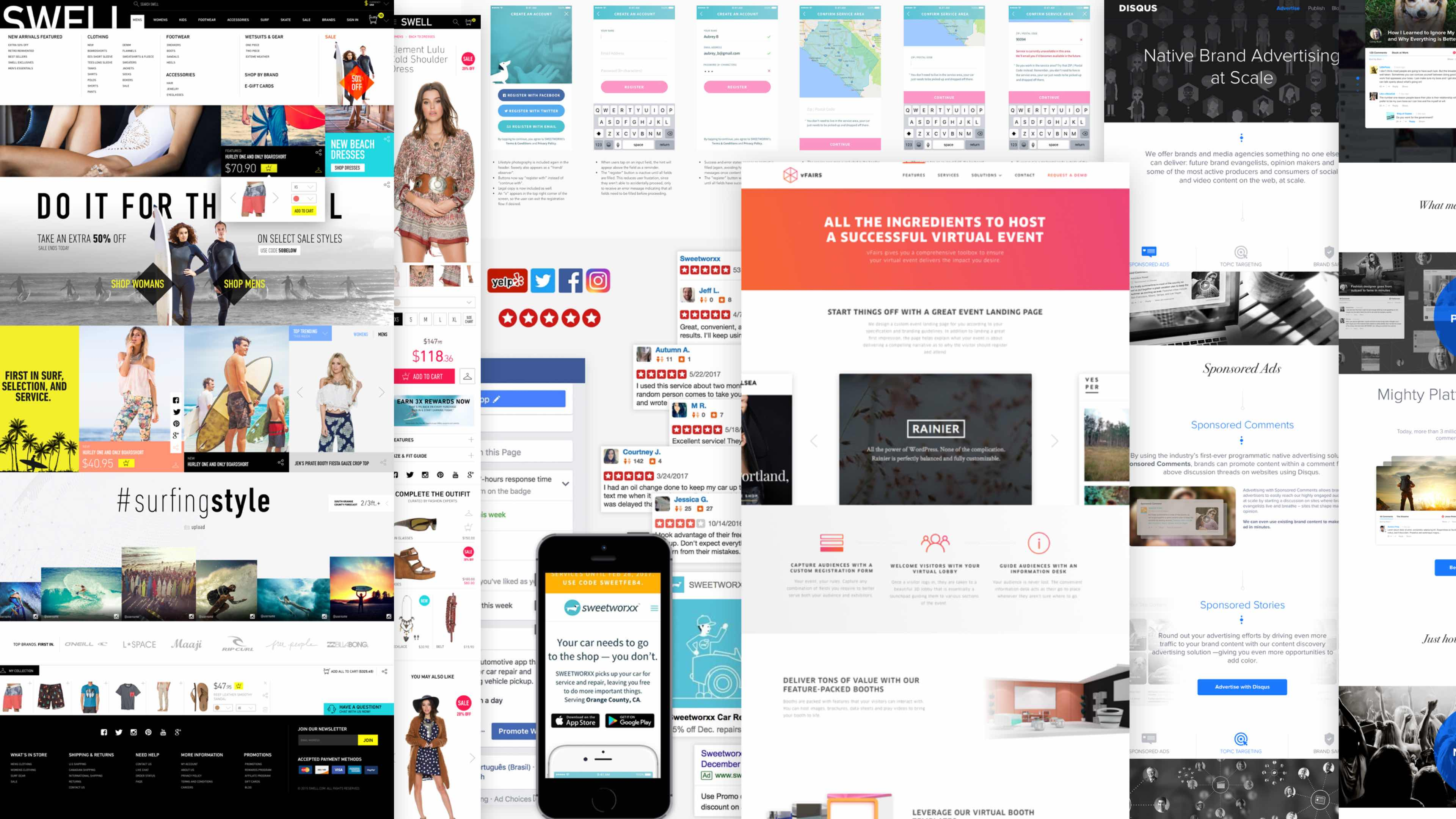 Rareview is a web design and UX design agency