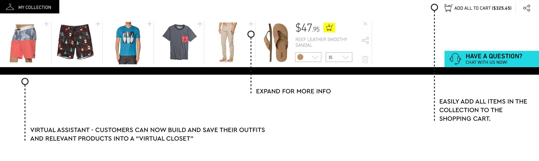 Shopping drawer design idea