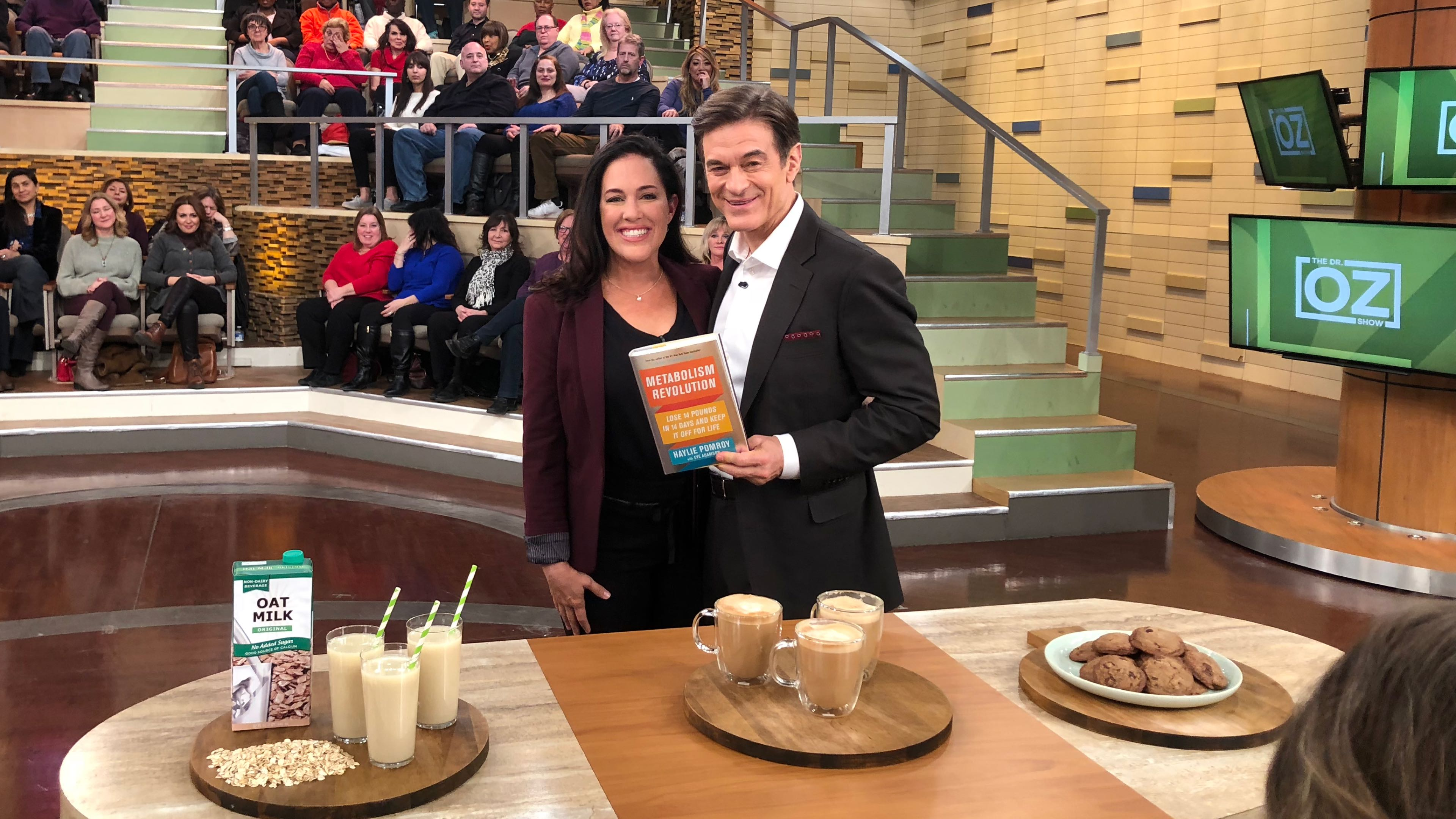 Haylie Pomroy on the Dr. Oz show