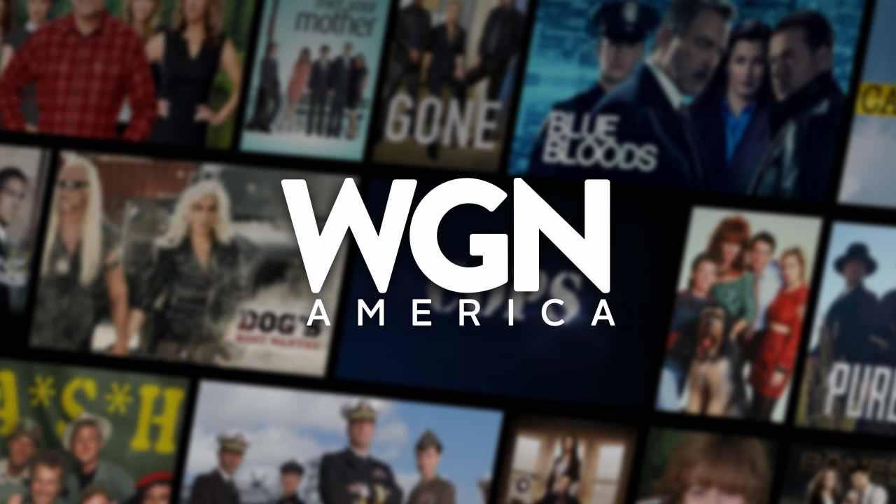 Visual tiles displaying all WGN America top shows