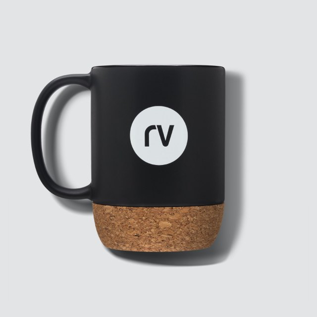 Mug from Rareview with logo