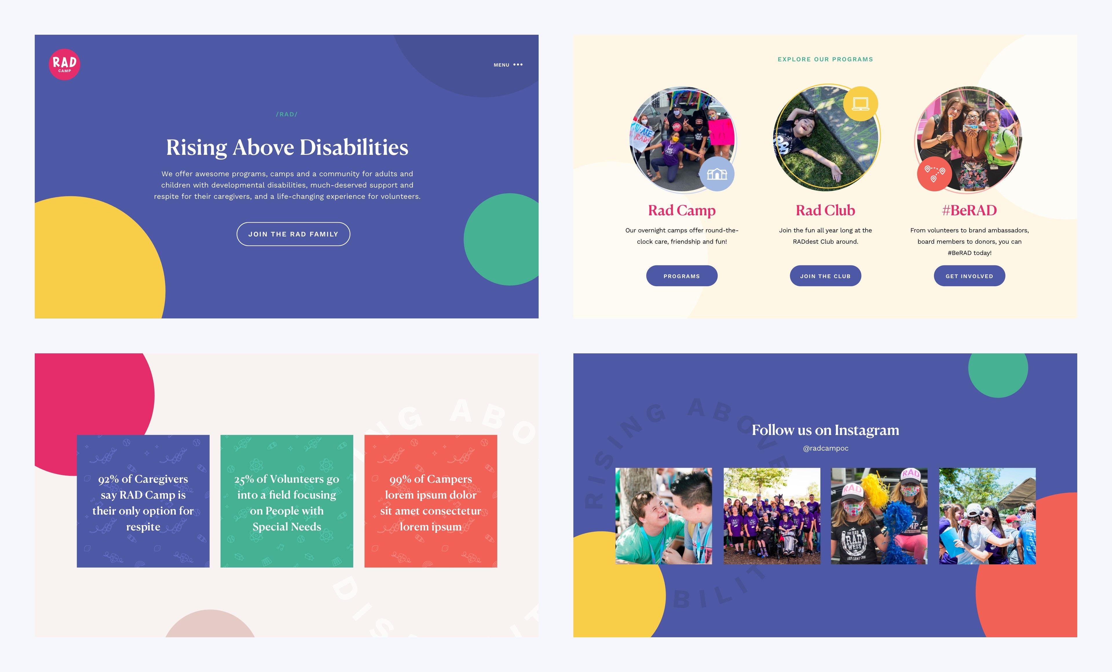 RAD Camp WordPress Website by Rareview