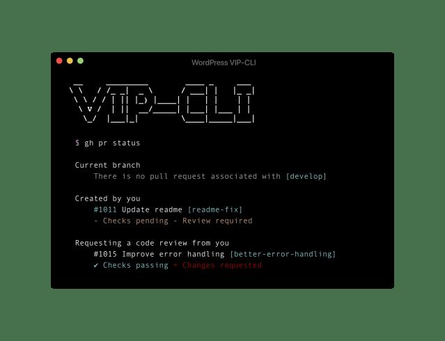 WordPress VIP-CLI developer tool