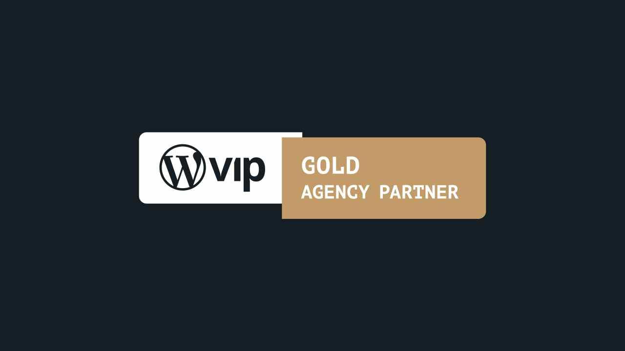 WordPress VIP Gold Partner Agency Badge